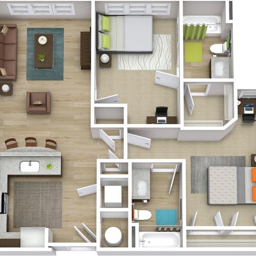 The Indy - 2 Bedroom