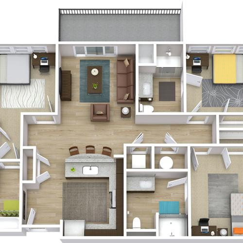 The Indy - 3 Bedroom