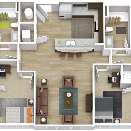 The Indy - 4 Bedroom