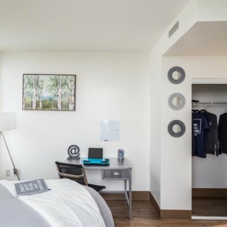 Vast Bedroom | Umd Apartments | Vie at University Towers