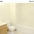 Ornate Bathroom | Ferris State University Off Campus Housing | Hillcrest Oakwood Property
