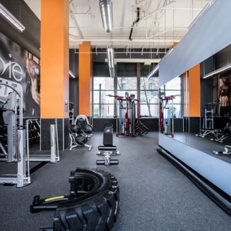 Cutting Edge Fitness Center | Apartments Homes for rent in Hyattsville, MD | Vie at University Towers LLC