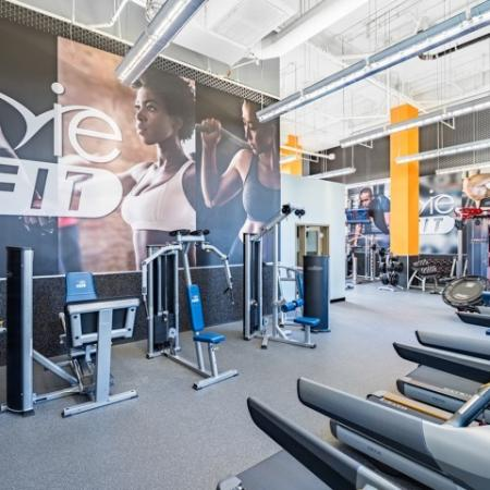 Resident Fitness Center | Apartments Hyattsville, MD | Vie at University Towers LLC