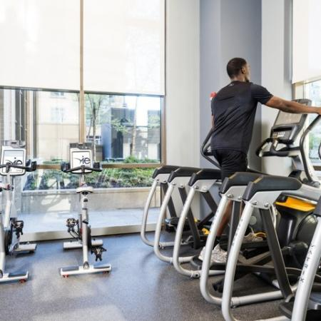 On-site Fitness Center | Hyattsville MD Apartments For Rent | Vie at University Towers LLC