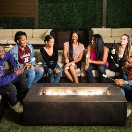 Community Fire Pit | Apartments Hyattsville, MD | Vie at University Towers LLC