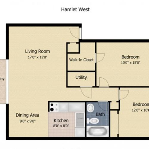 Hamlet West Apartments and Townhomes