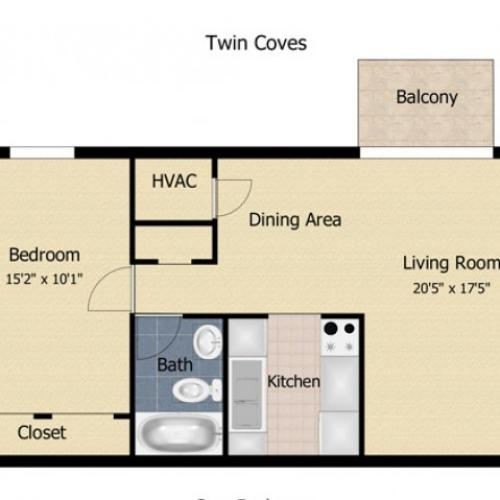 Twin Coves Apartments