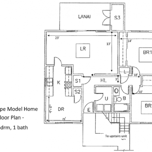 2-Bedroom Apartment at 939 sq ft on Schofield Barracks