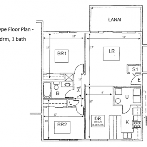 2-Bedroom home located in the heart of Schofield Barracks, 939 sq ft at promotional rate