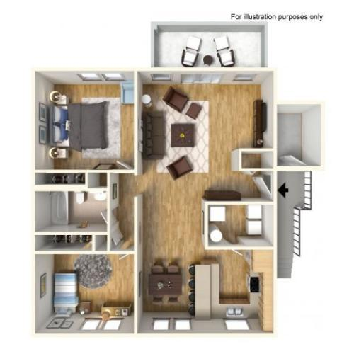 Floor Plan 1 | Island Palm Communities | Island Palm Communities