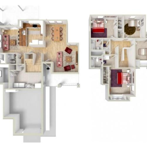 Floor Plan 1 | Fort Knox Housing | Knox Hills