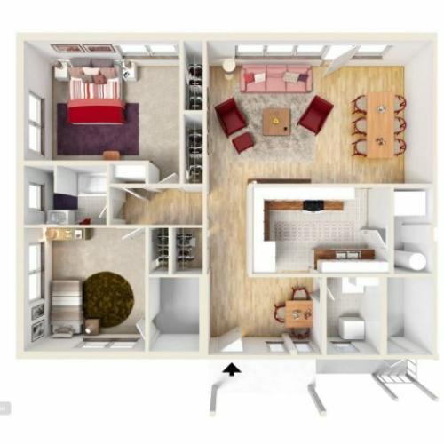 Floor Plan 15 | Knox Hills | Knox Hills