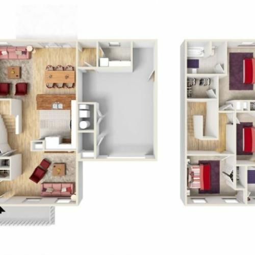 Floor Plan 5 | Knox Hills | Knox Hills