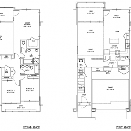 Floor Plan 17 | Island Palm Communities Fort Shafter | Island Palm Communities