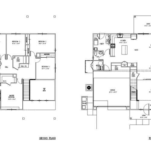 5-bedroom new single family home on Schofield, Wheeler, FGO, SNCO large floor plan