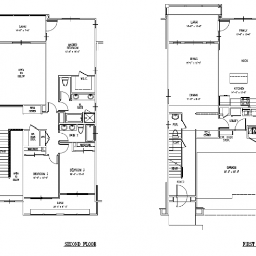3-bedroom two story multiplex townhome on FTSH, CGO