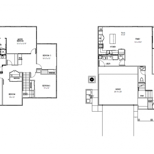 5-bedroom new single family home on FTSH, AMR, 2460 sq ft, with central air,2-car garage