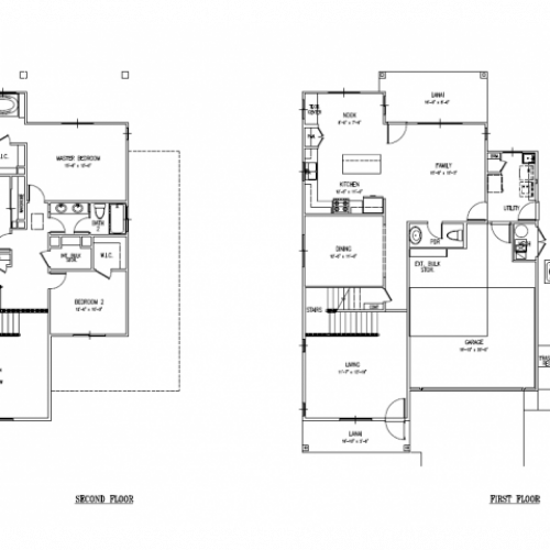 3-bedroom new single family home, 2186 sq ft, with 2 car garage