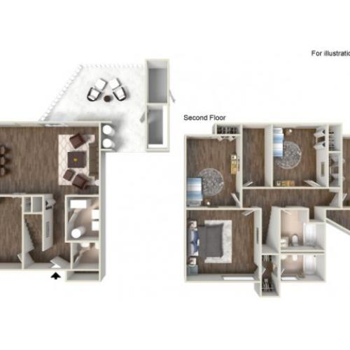 Floor Plan 15 | fort hood texas housing | Fort Hood Family Housing