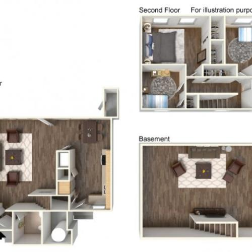Floor Plan 1 | Fort Hood Housing | Fort Hood Family Housing