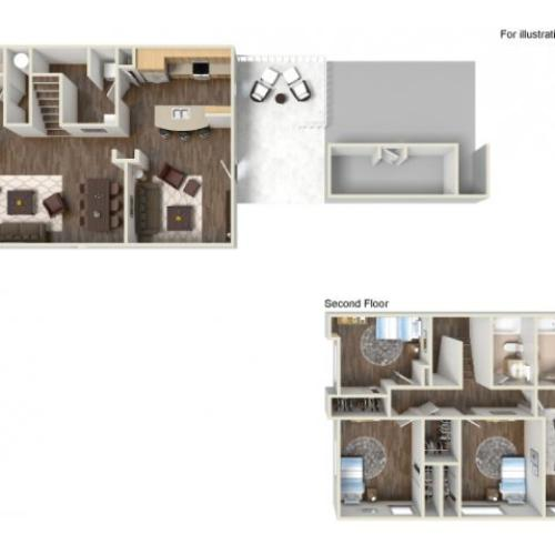 Floor Plan 17 | fort hood housing floor plans | Fort Hood Family Housing