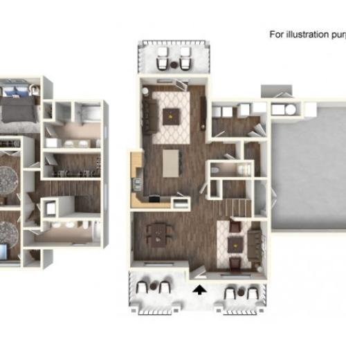 Floor Plan 12 | fort hood housing floor plans | Fort Hood Family Housing