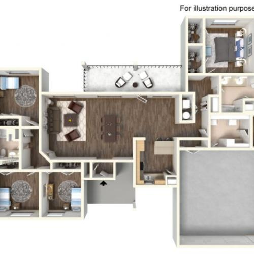 Floor Plan 22 | fort hood housing floor plans | Fort Hood Family Housing