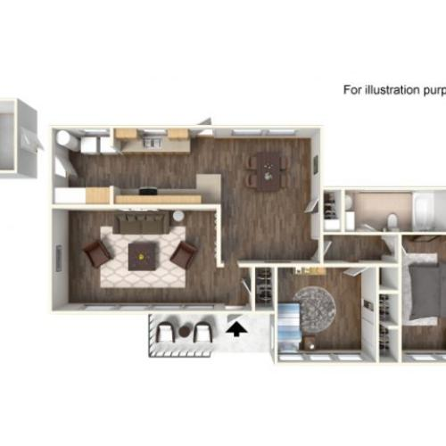 Floor Plan 4 | Fort Hood Family Housing | Fort Hood Family Housing