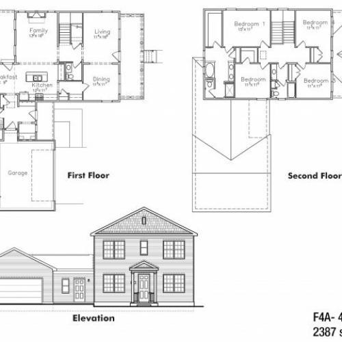 4 BDRM Field Grade Floor Plan | On Base Housing Fort Drum