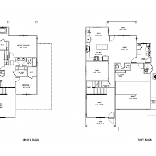 3-bedroom new single family home on FTSH, AMR, Red Hill, 2031-2089 sq ft, 2 car garage