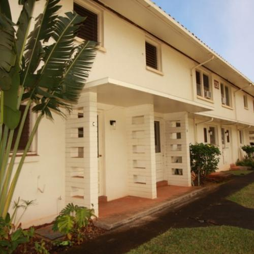 2-bedroom historic townhome on Tripler-Craig Rd, area view