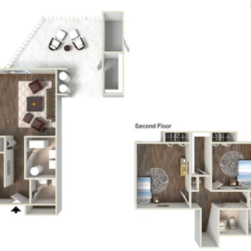 Floor Plan 5 | fort hood texas housing | Fort Hood Family Housing