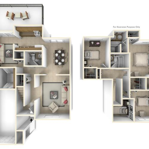 Grant\'s Landing Ballard 3D FloorPlan
