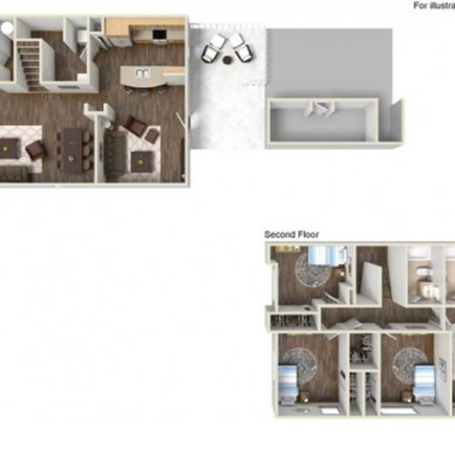 Floor Plan 26 | Fort Hood Housing | Fort Hood Family Housing