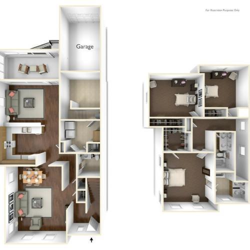 Laurel Bay Jefferson Floor Plan