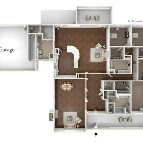 Laurel Bay Lanham Floor Plan
