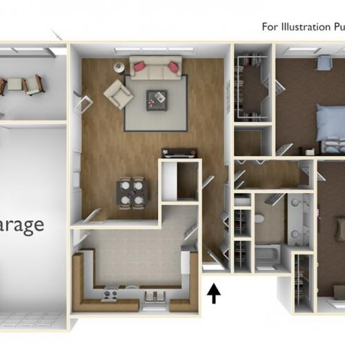 Laurel Bay Model 2 Floor Plan