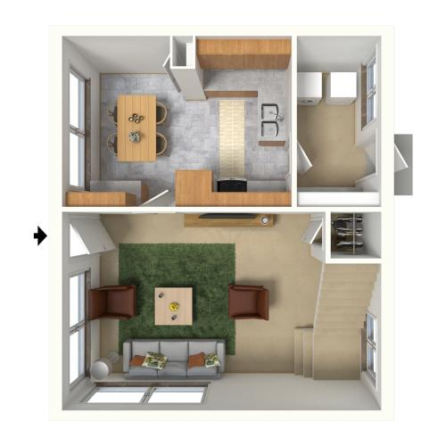 Bougainvillea 2 Bedroom Apartment Downstairs