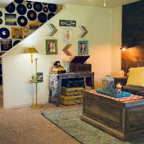 Chuck Yeager - Living Room