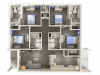 A four bedroom, four bathroom townhouse | Apartments in Cullowhee, NC | Bellamy Western