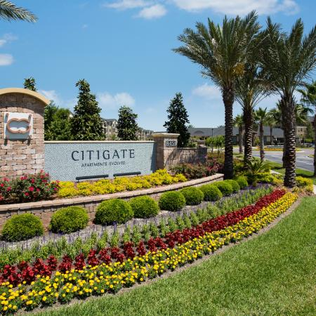 Citigate Apartments Exterior | Front sign | Palm trees | Garden