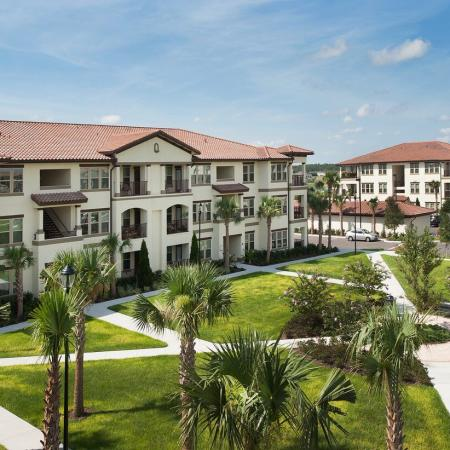 Citra at Windermere Exterior | Garden style community | Palm trees