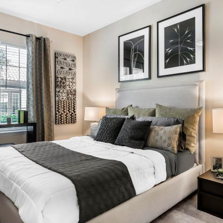 Citra at Windermere Interior | Bedroom | Large bed space | Windows | Carpeted