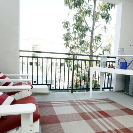 Apartment Patio Area