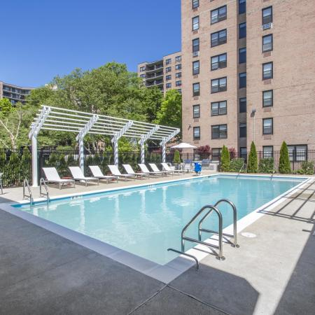 Outdoor Pool at The Residences on Bedford