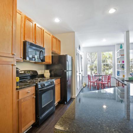 Elkridge Apartment Kitchen - Belmont Station