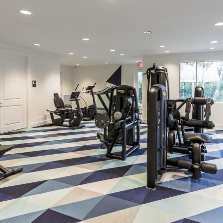 Boca Raton Apartment Fitness Center
