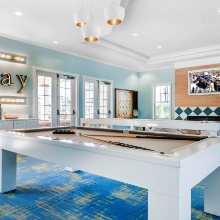 Citra at Windermere Interior | Game room | Billiards | TV | Two sets of doors