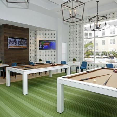 Grandeville at River Place Interior | Billiards | Window | TV's | Carpet