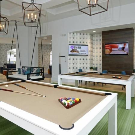 Grandeville at River Place Interior | Billiards | TV's | Carpet